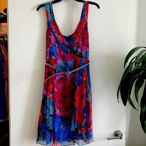 🎉 Nanette Lenore Floral Dress with Belt